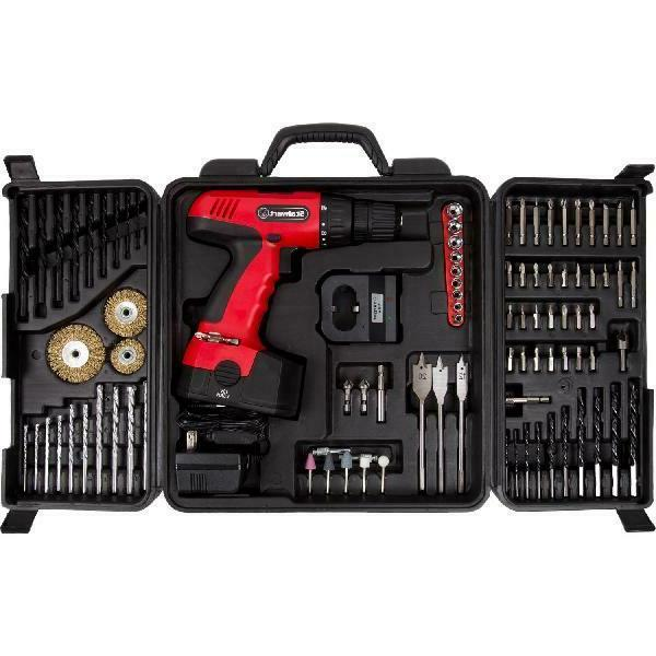 Stalwart 18-Volt Cordless Drill, With 89-Piece 75-Cd91 -