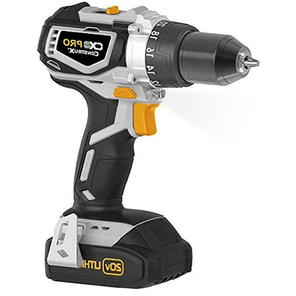 CX Pro Lithium Ion Cordless 1/2 in. Drill