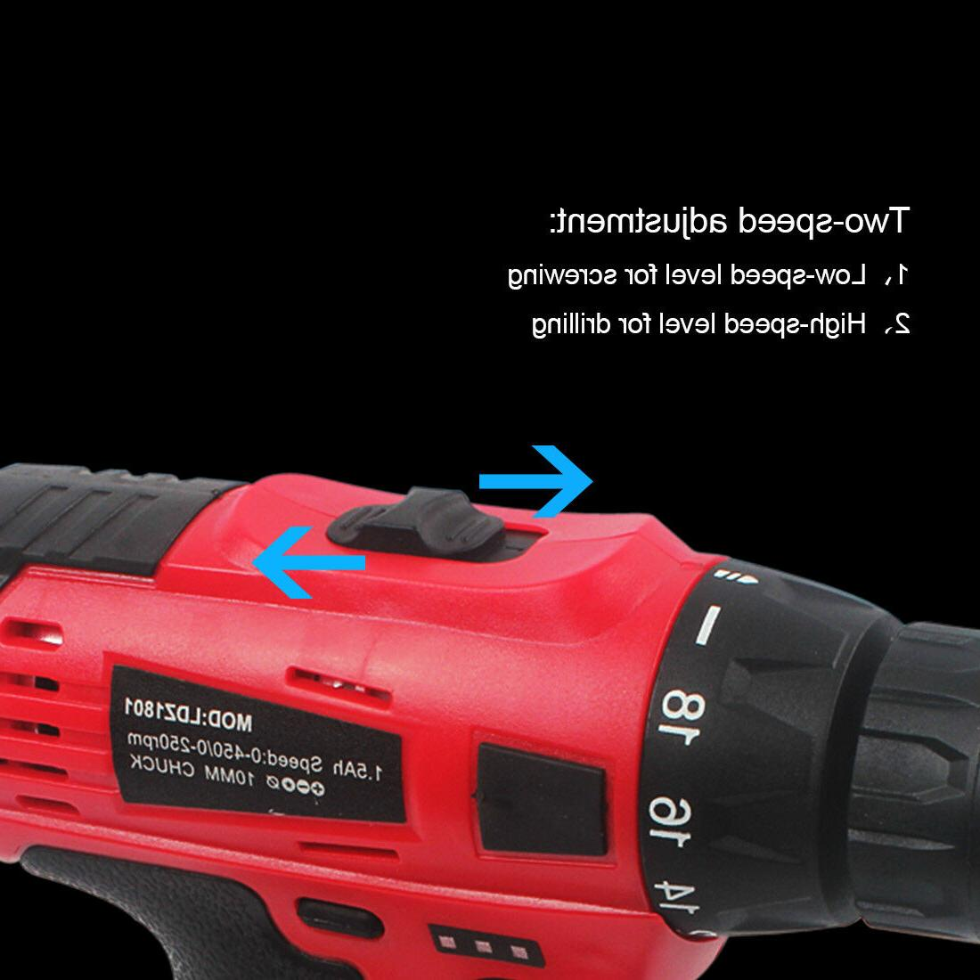 20V Cordless Electric Li-Ion Charger Brushed for