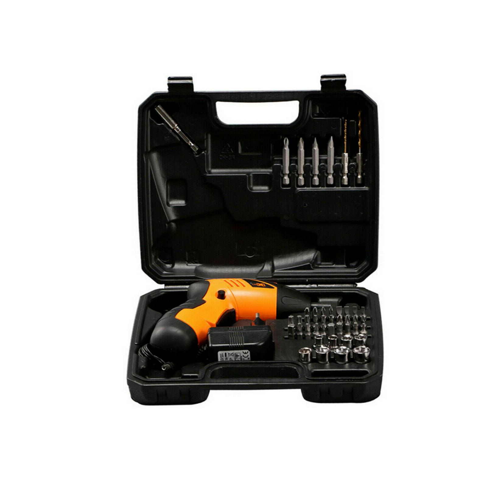 45 Power Tool Cordless Electric Screwdriver Drill Kit Wireless