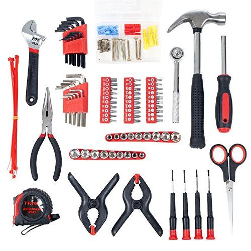 Household Hand Tools, Piece Tool Roll-Up by - Great for Home Car