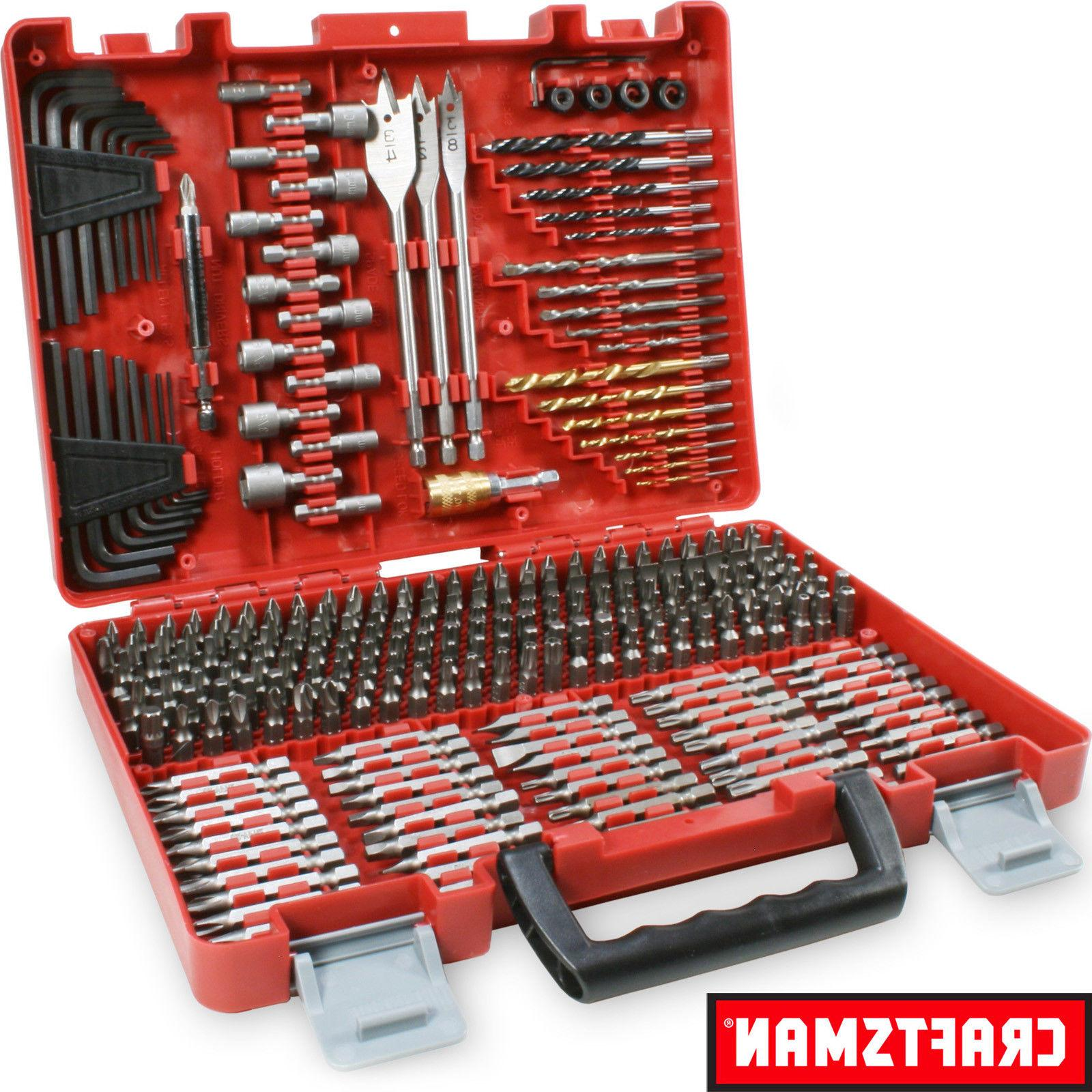 NEW Craftsman 300 Piece Drill Drive Screwdriver Bit Set Acce