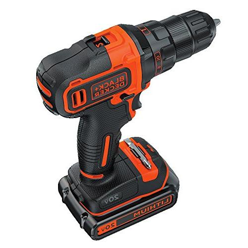 Black 20V Ah Cordless Lithium-Ion 3/8 2-Speed