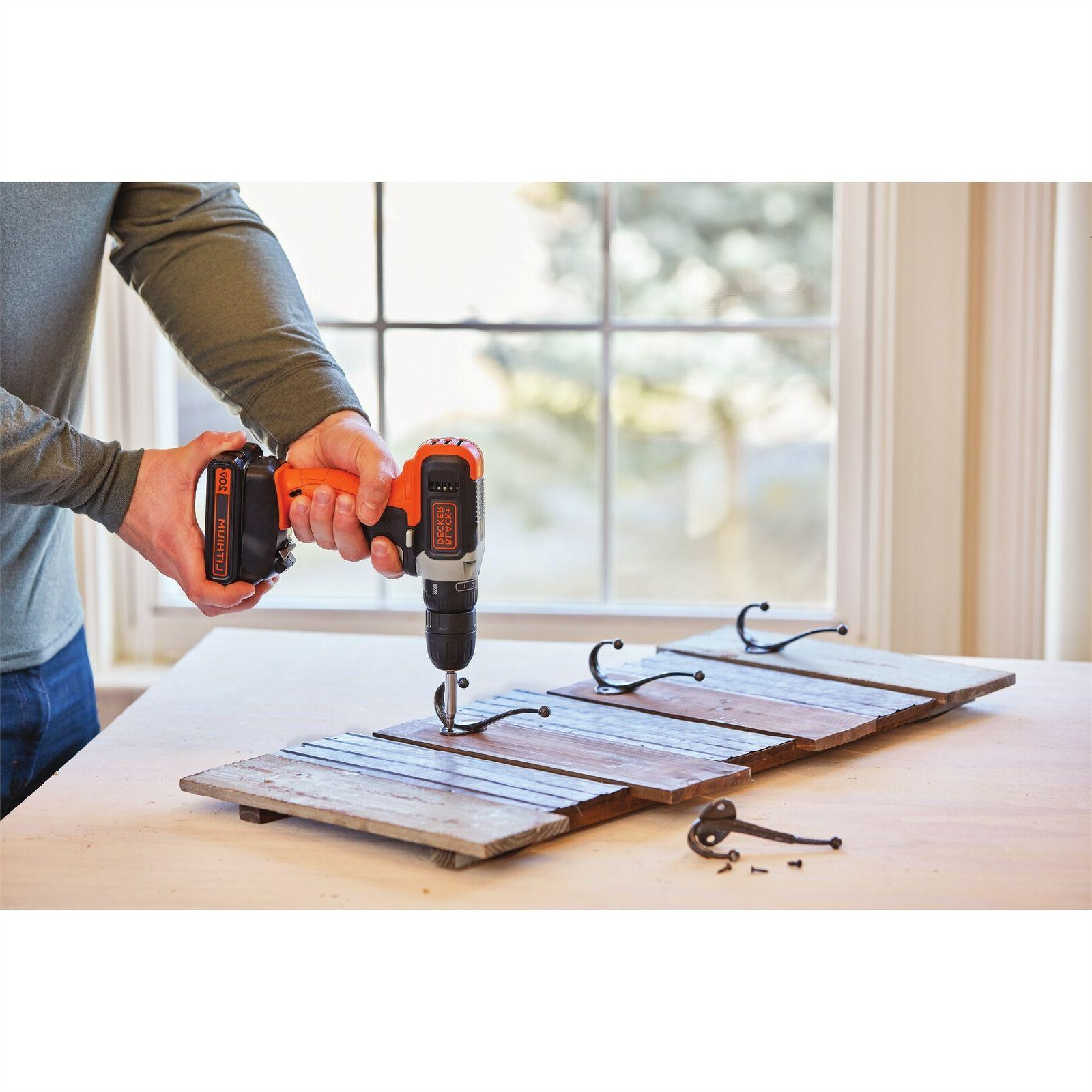 BLACK+DECKER MAX* Cordless With Batteries