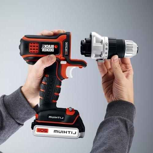 BLACK+DECKER Drill and Combo Kit