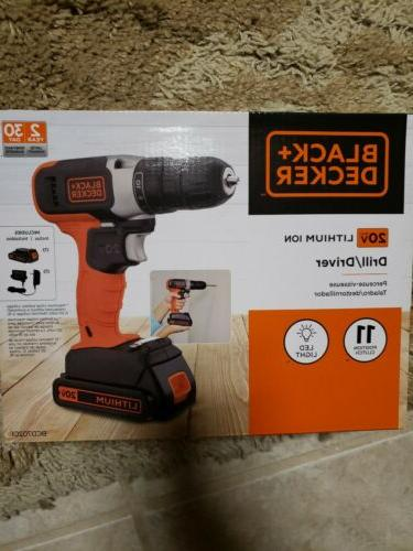 BLACK+DECKER LDX120C 20V Lithium Drill / Driver