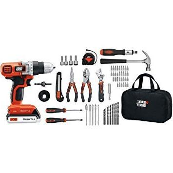 black decker ldx120pk drill project