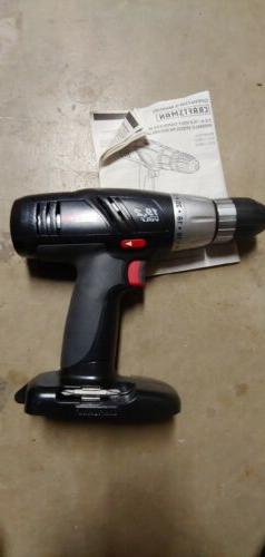"BRAND NEW Craftsman 19.2-Volt Cordless 1/2"" Drill Driver 315"