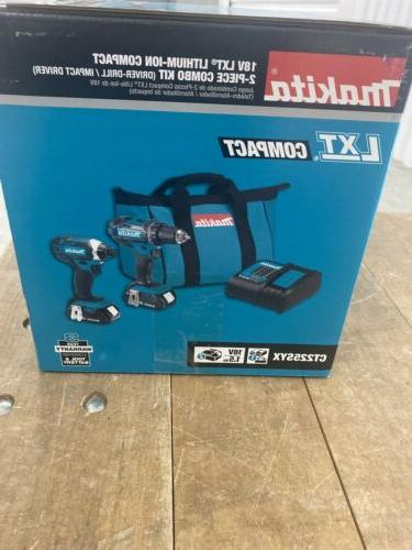 Makita Combo Drill Impact Lithium-Ion CT225SYX Piece
