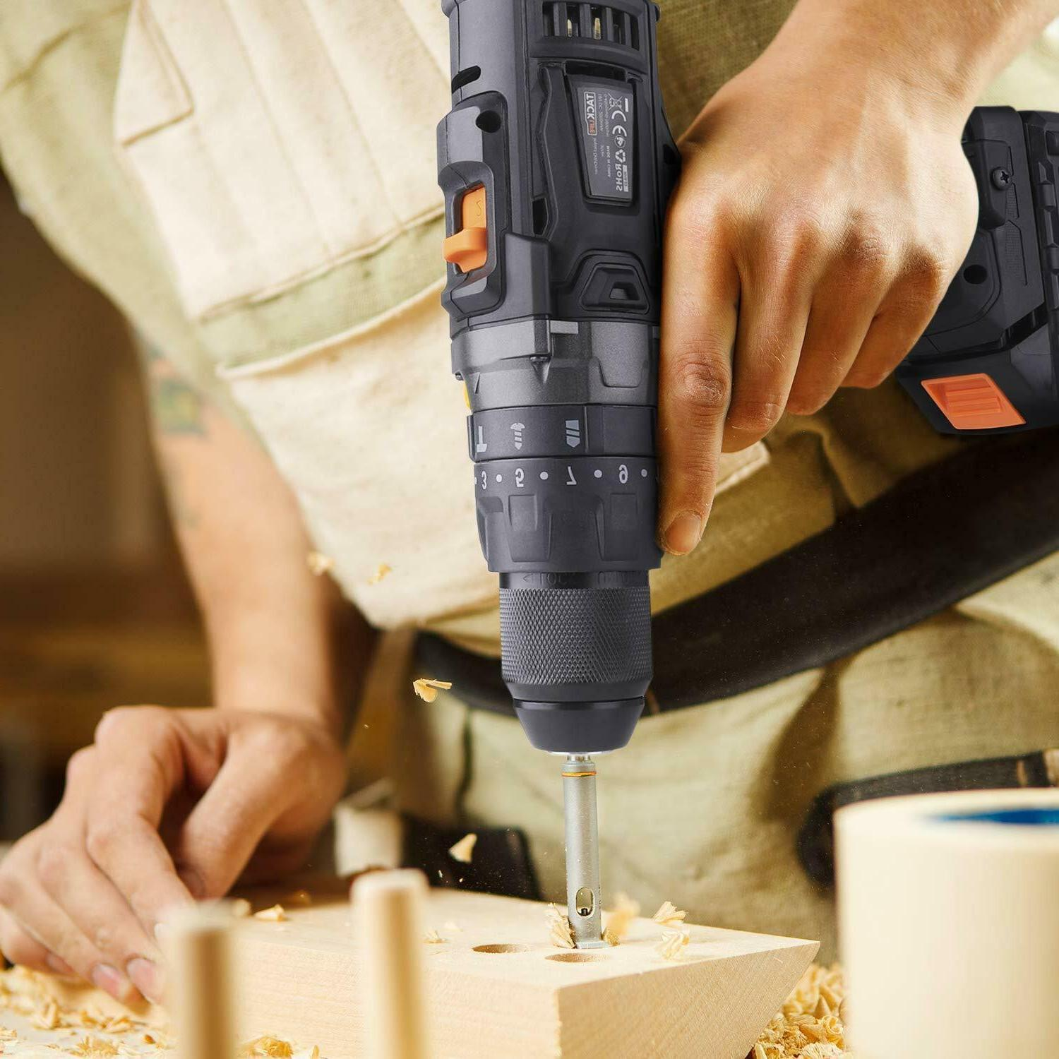 Cordless with Hammer