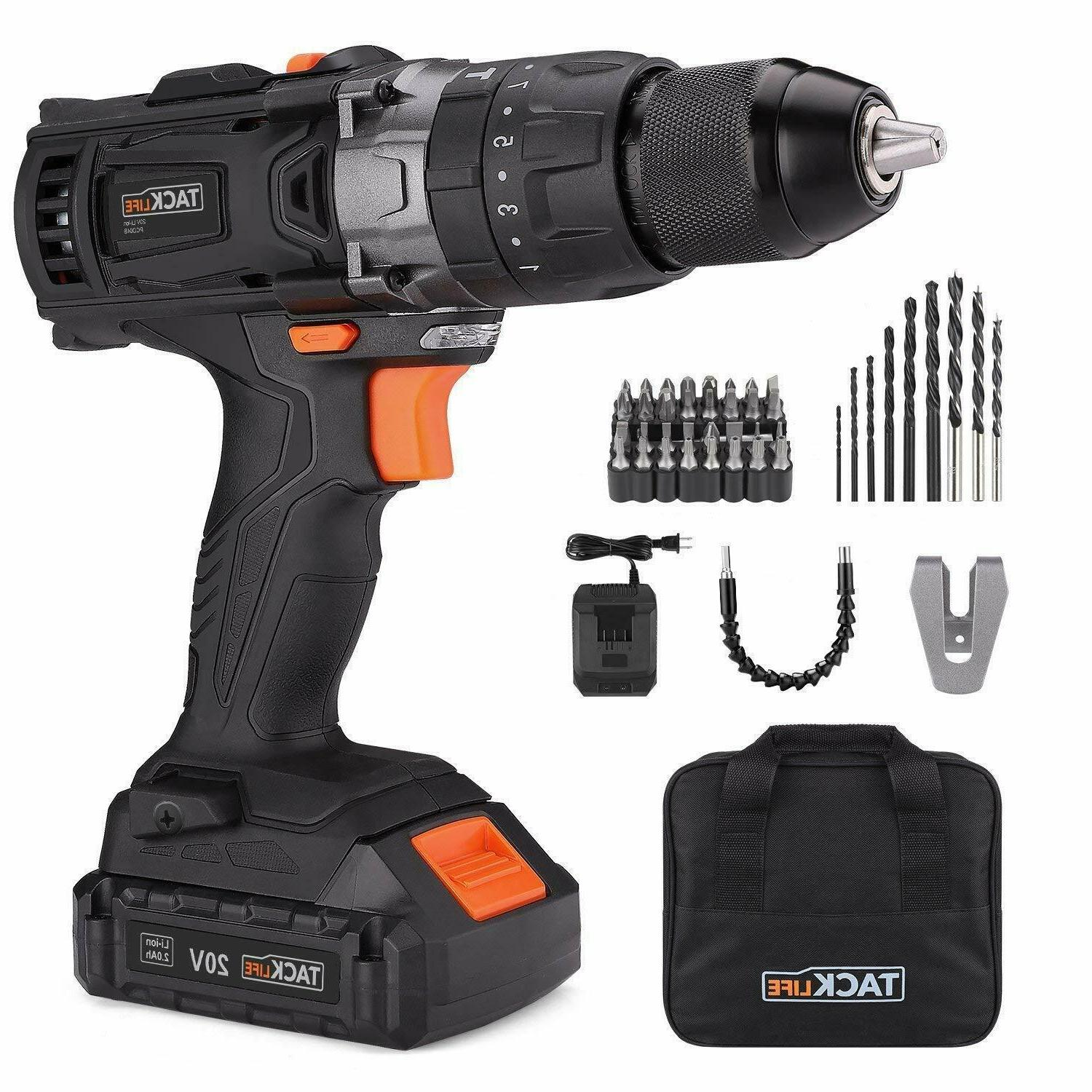 cordless drill 20v electric drill 1 2