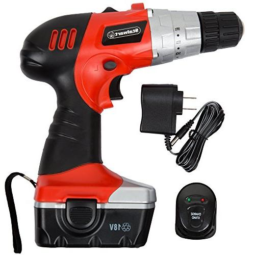 18V Cordless with LED Light and Extras
