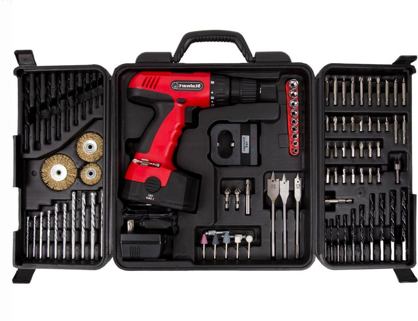 cordless power drill set
