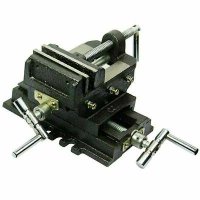 "New 4"" Cross Drill Press Vise X-Y Clamp Machine Slide Metal"