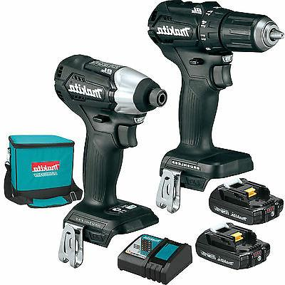 Makita CX200RB 18V LXT Lithium-Ion Brushless 2-Piece Combo