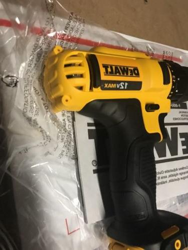 Dewalt 12V 3/8in Compact Driver New-TOOL ONLY!