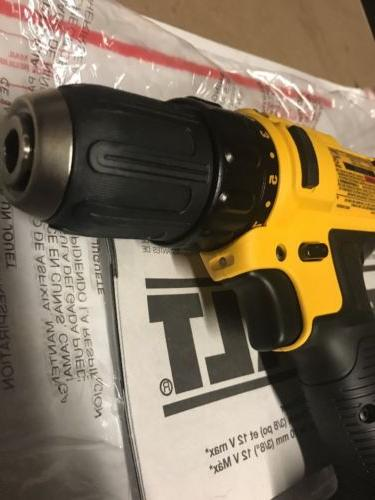 Dewalt 12V 3/8in Cordless Compact Driver New-TOOL