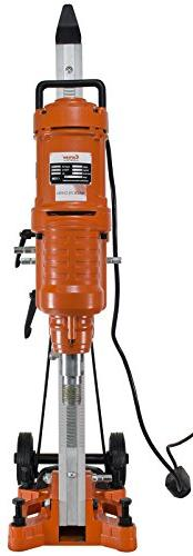 """Cayken 10"""" Diamond Core Drill Rig with 200F Adjustable Angle"""