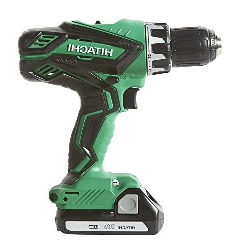 HITACHI DRILL/DRIVER KIT DRIVER and IMPACT DRIVER