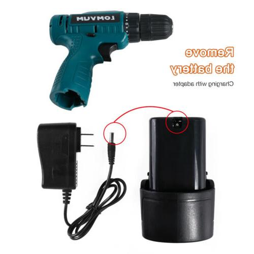 Electric Screwdriver Battery Rechargeable Set
