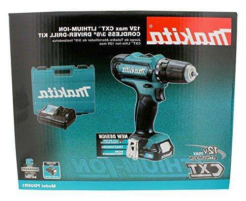 Makita FD05R1 12V MAX CXT Lithium-Ion 3/8 in. Driver