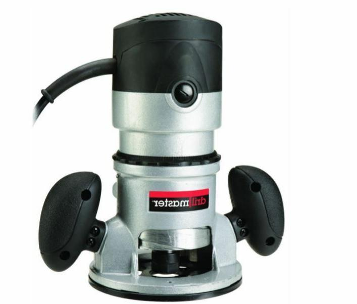 fixed base wood router 2hp adjustable depth