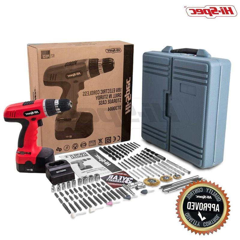 Hi-Spec Cordless Power With Wood,