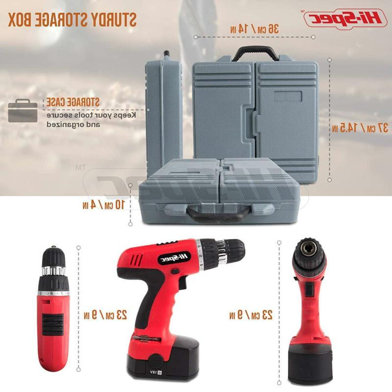 Hi-Spec Electric Power Drill With Wood,