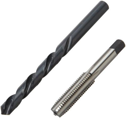 Chicago Steel Length Drill Bit and Tap Set Oxide Drill Metric, 18-piece, Metric Drill Bit M12