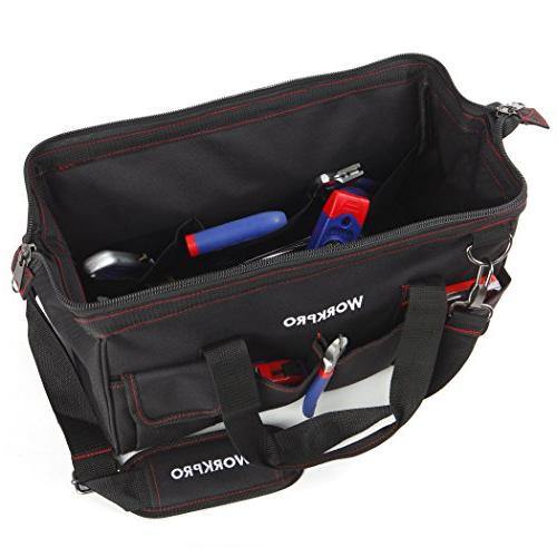 Workpro 156-piece Tool Set, Using Wide Open Mouth Bag