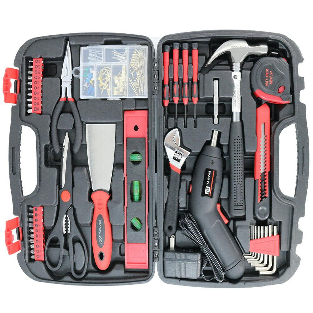 SAVWAY Rechargeable Cordless Drill Kit