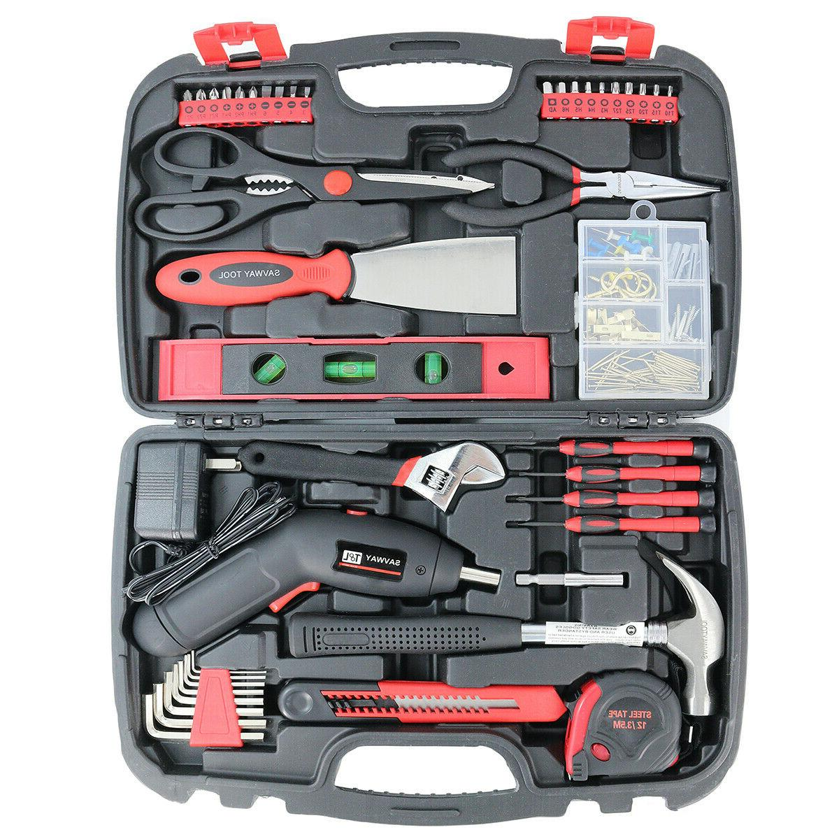 SAVWAY Household Power Rechargeable Cordless Drill