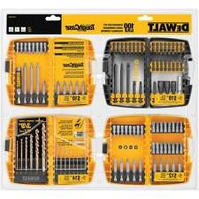Dewalt 100-piece Impact Screw Driving Bit Set
