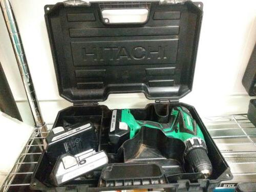 Metabo HPT with two batteries in