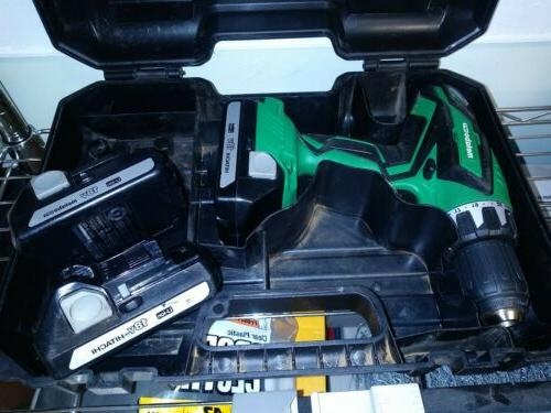 metabo hpt battery drill new with two