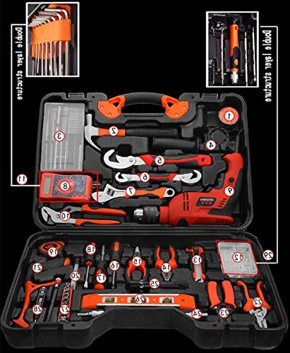 Gyqjs 128-Pack Multi-Function Impact Woodworking