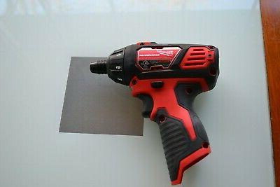 """New 12v M12 Lithium 1/4"""" Hex Compact Drill Driver Screwdriver"""