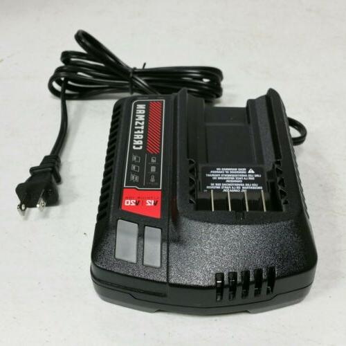 new 20 volt max tool battery charger