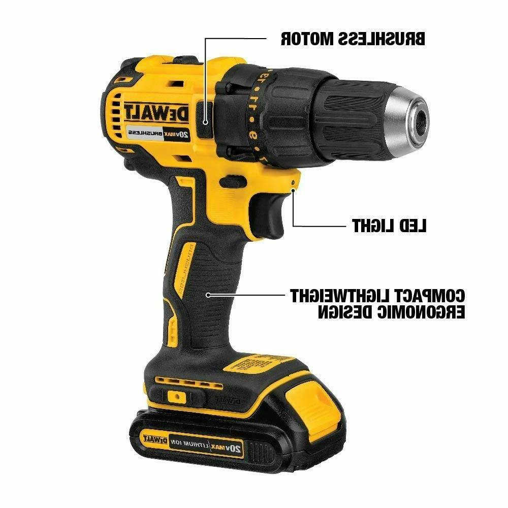 NEW DEWALT DCK277C2 Compact and Kit