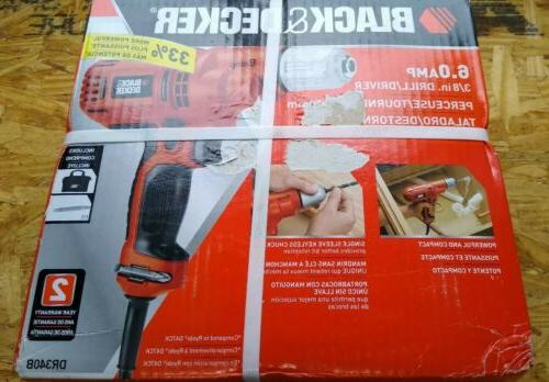 new black and decker corded variable speed