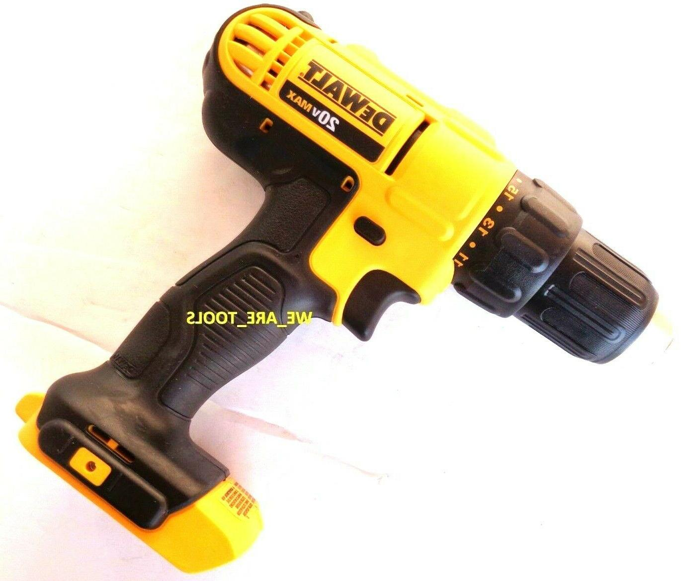 New DCD771 Compact Drill 1/2 Cordless 20