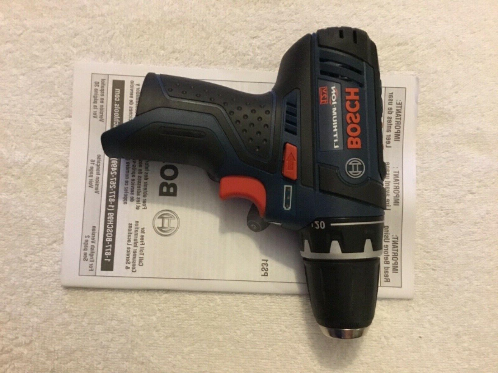 "New Bosch 12 Volt 3/8"" Drill Driver Speed"