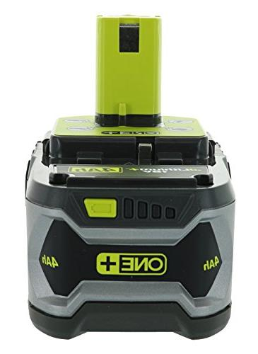 Ryobi 4.0AH and P117 Chemistry Lithium Ion and NiCad Battery