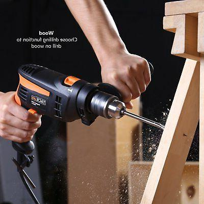 Tacklife Hammer Drill 6.0 In. 2800rpm Reversible with