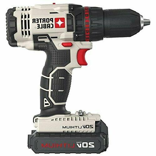 Porter Cable 20V Max Lithium Ion Drill/Driver