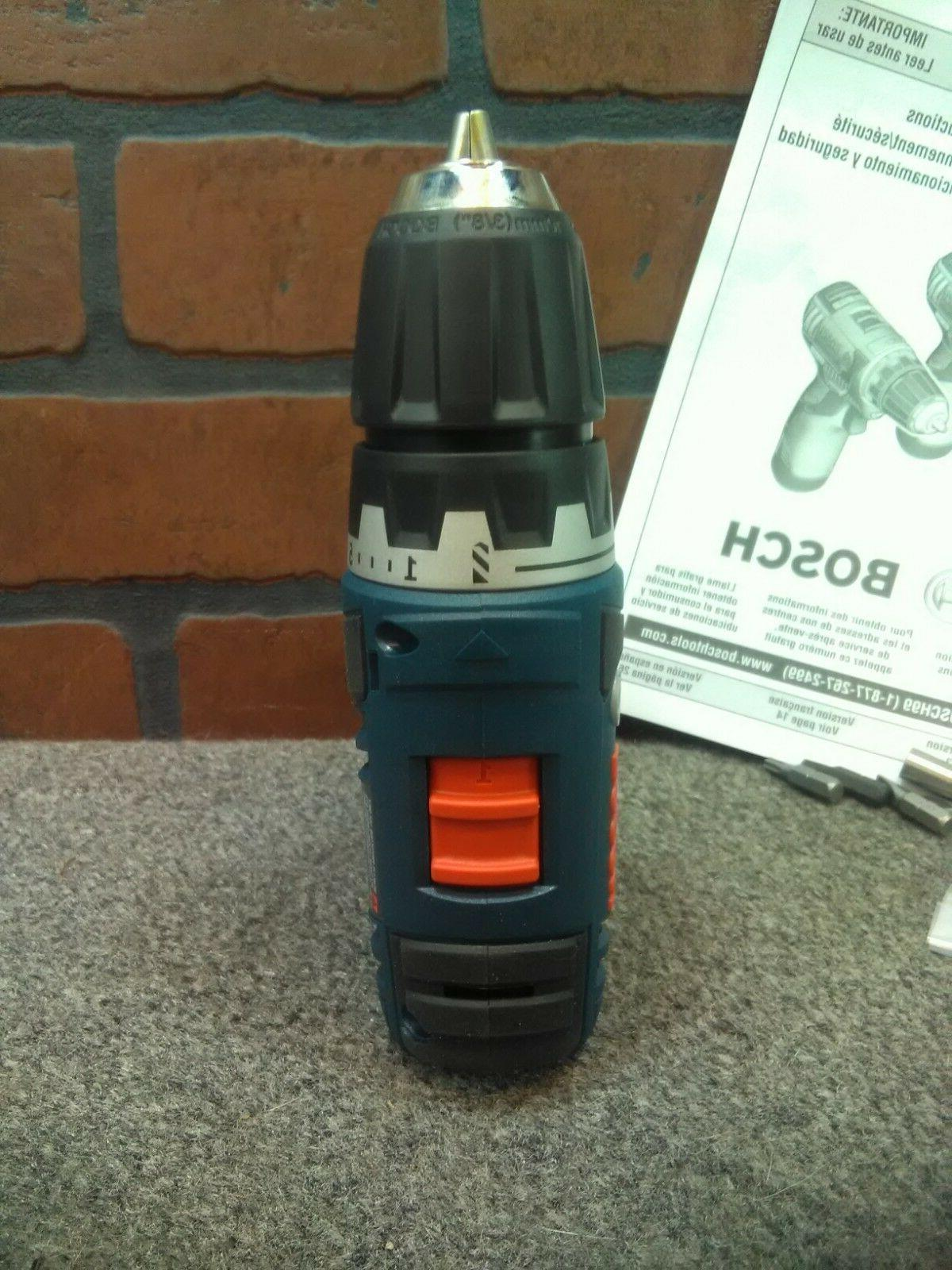 """Bosch PS32B 3/8"""" Max Lithium Brushless Drill Driver***NEW***"""