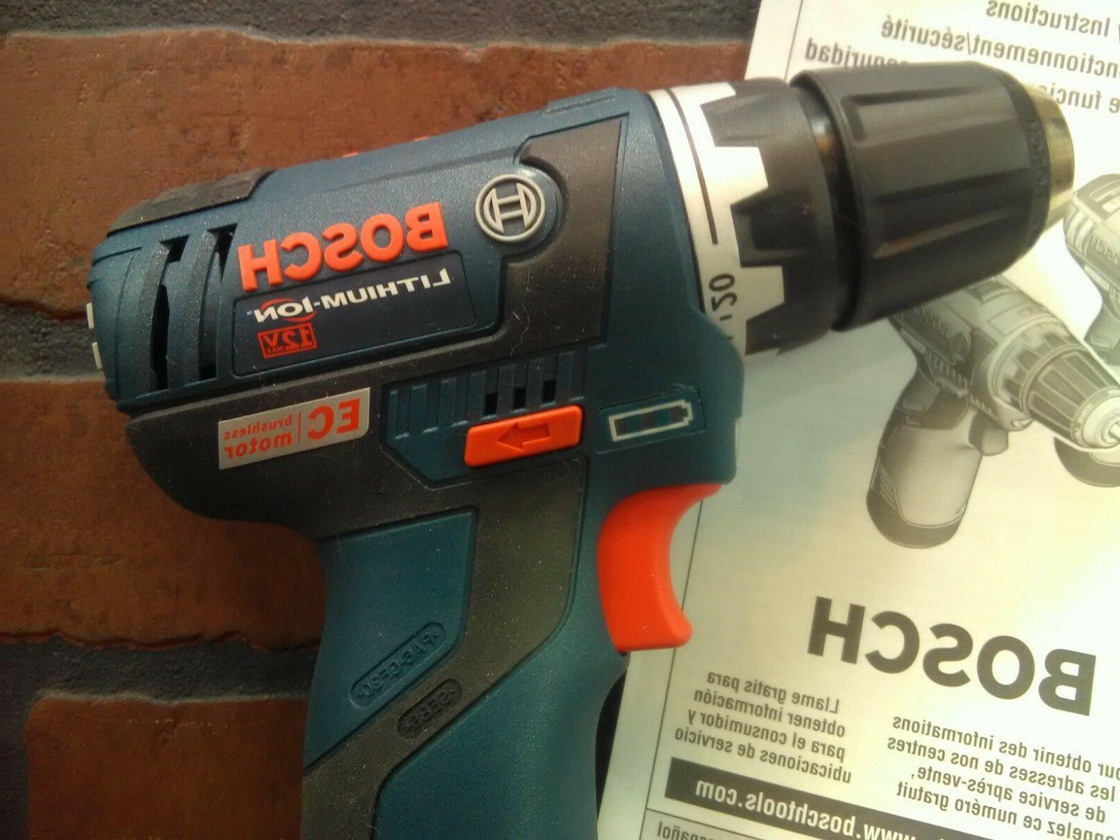 """Bosch 3/8"""" Max Lithium Brushless Driver***NEW***"""
