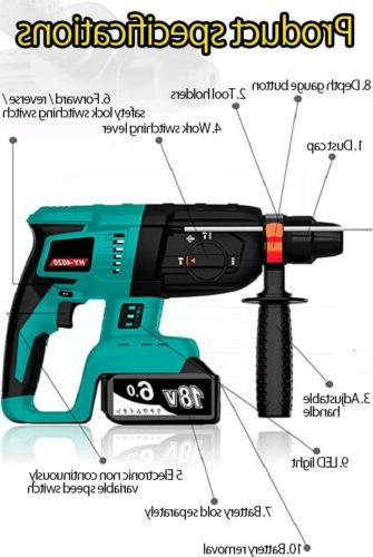 Replace For 18V Cordless Rotary Body