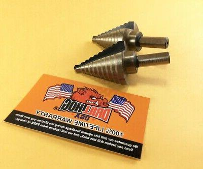 Drill Hog® Bit M7 UNIBIT 2 Warranty