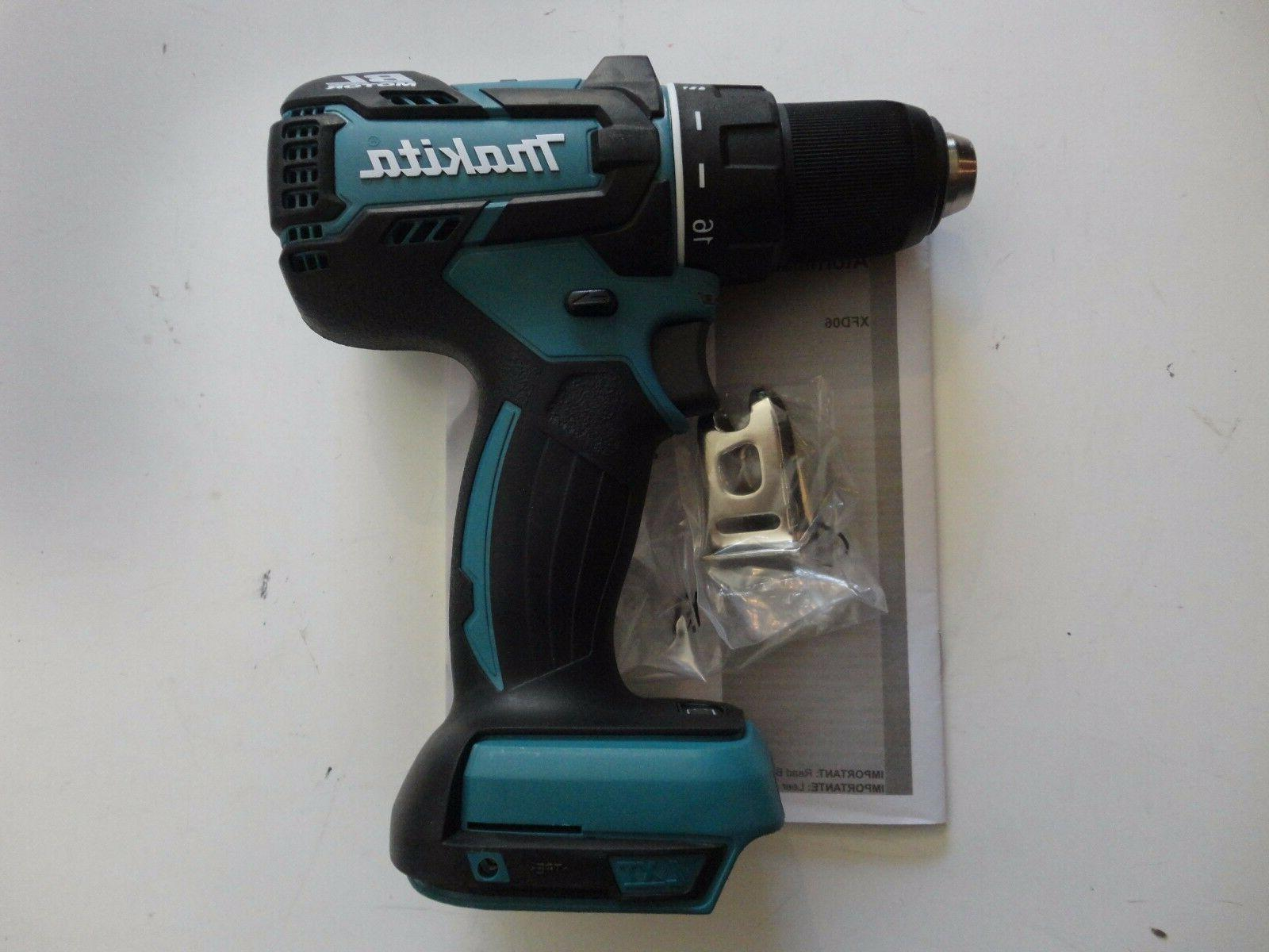 "MAKITA 18 Volt Brushless 1/2"" XFD06"